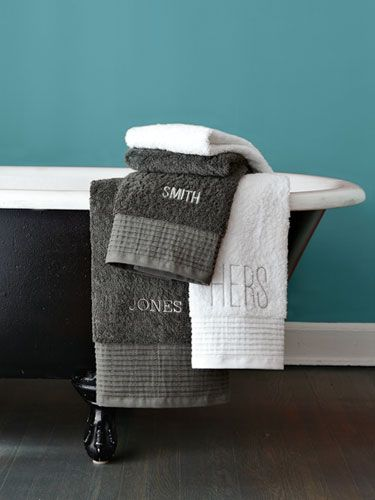 20+ Personalized Wedding Gifts That Are Worth Going Off-Registry. Monogram  TowelsMonogram GiftsMonogram ShopPersonalized GiftsMonogrammed IdeasBath ...