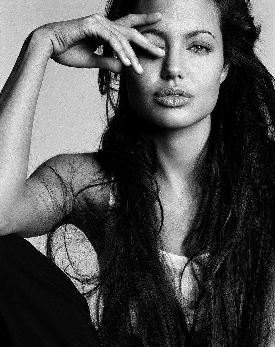 Angelina Jolie by Michael Thompson