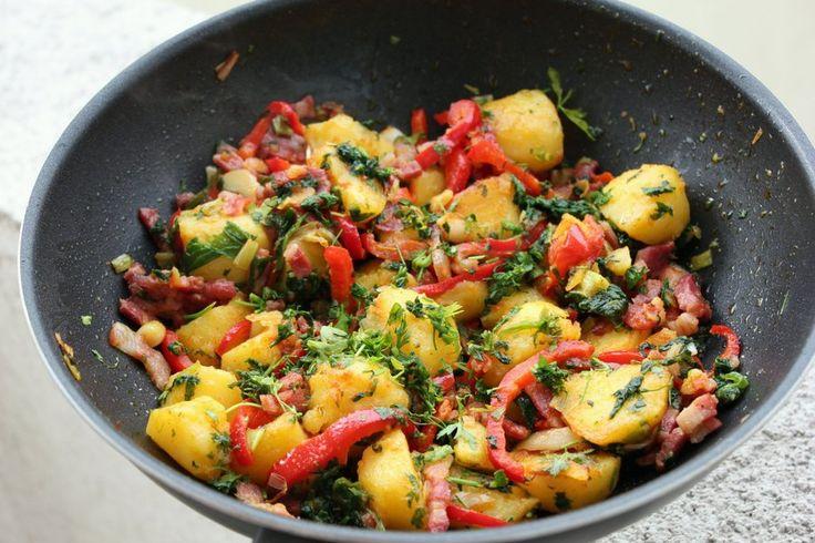 Reteta Cartofi boieresti din categoria Mancaruri cu legume si zarzavaturi