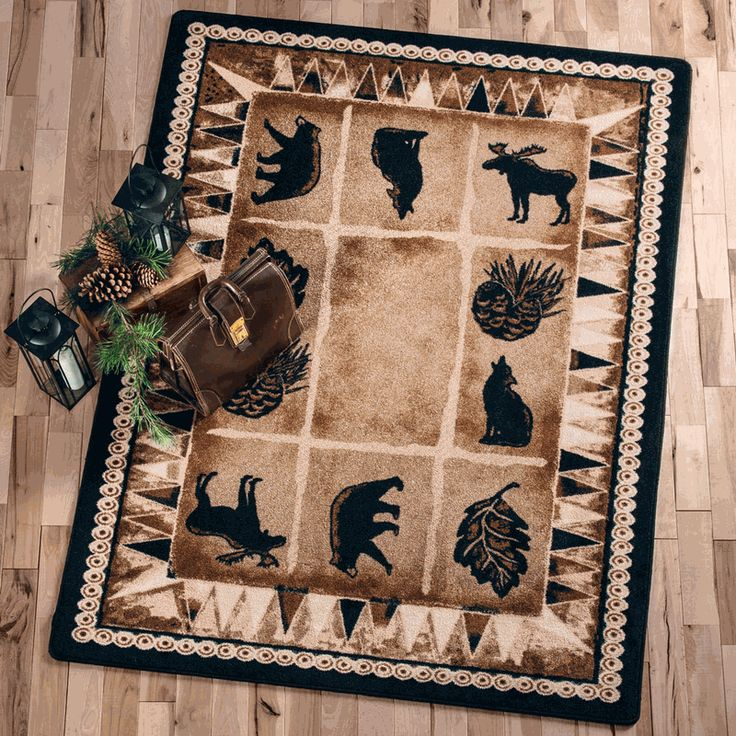 Northern Wildlife Rug Collection