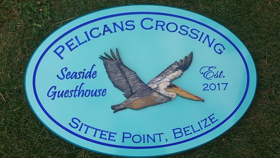 Beach House Crab House Cottage Signs Painted Custom Engraved