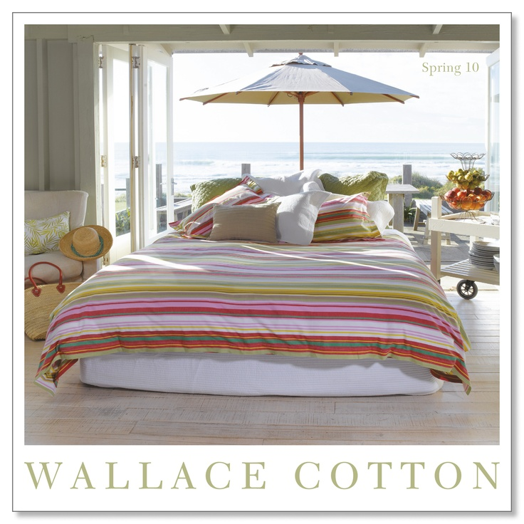 WC Spring 2010  #bedding #bed #wallacecotton