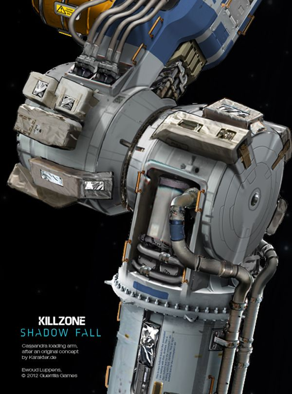Killzone Shadow Fall concept art by Ewoud Luppens, via Behance