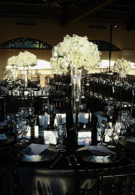 Black Silver Red Wedding Ideas The Bridges Very Elegant White Yelp Pinterest Our And