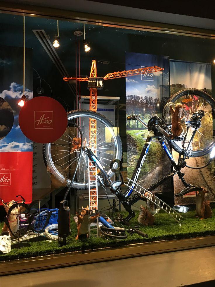 "MORTIMER HIRST EYEWEAR, High Street, Auckland CBD, New Zealand, ""Wheels of Change"", creative by Ton van der Veer"