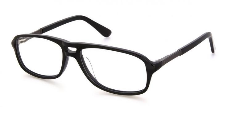 Ardan Black - Mens Prescription Glasses   Ozealglasses