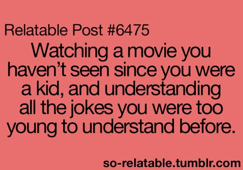 Ah, yes! Can't believe my parents let me watch some of those?! Well, then again, they knew how clueless I was.