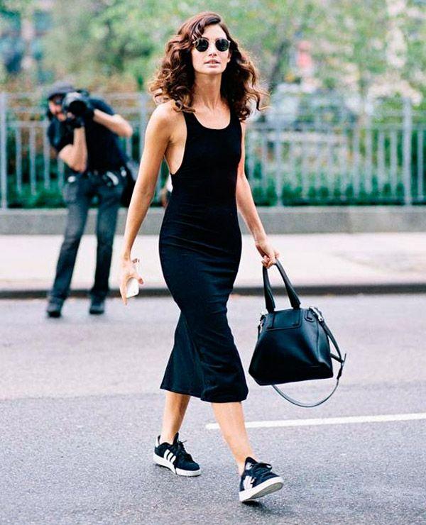 vestido modelo bodycon é sucesso no street style