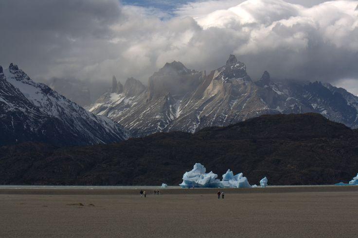Tempanos en Lago Grey, Parque Nacional Torres del Paine, Chile