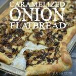 Caramelized Onion Flatbread Square