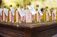 10 wedding favor crafts - one of them is a custom temporary tattoo wedding favors. Very Cute