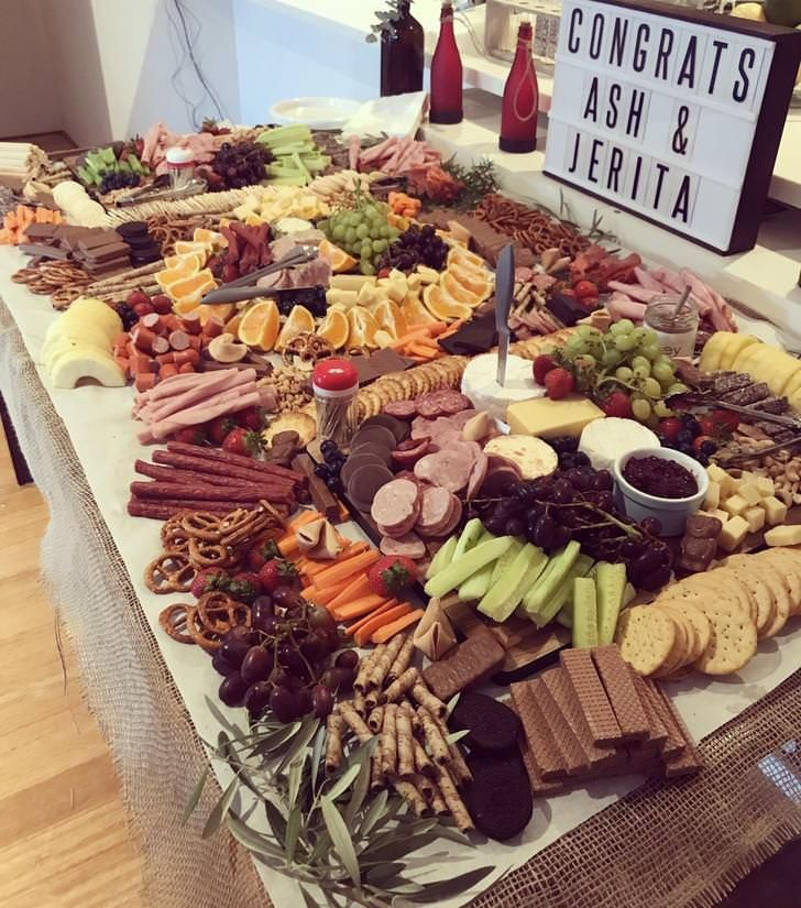 Wedding Snack Foods: First Ever Attempt At A Grazing Table. In 2019