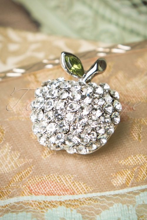 Celestine Silver Apple Broche 342 92 17250 10272015 24W