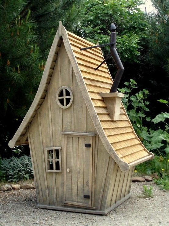wooden kid house by shakti