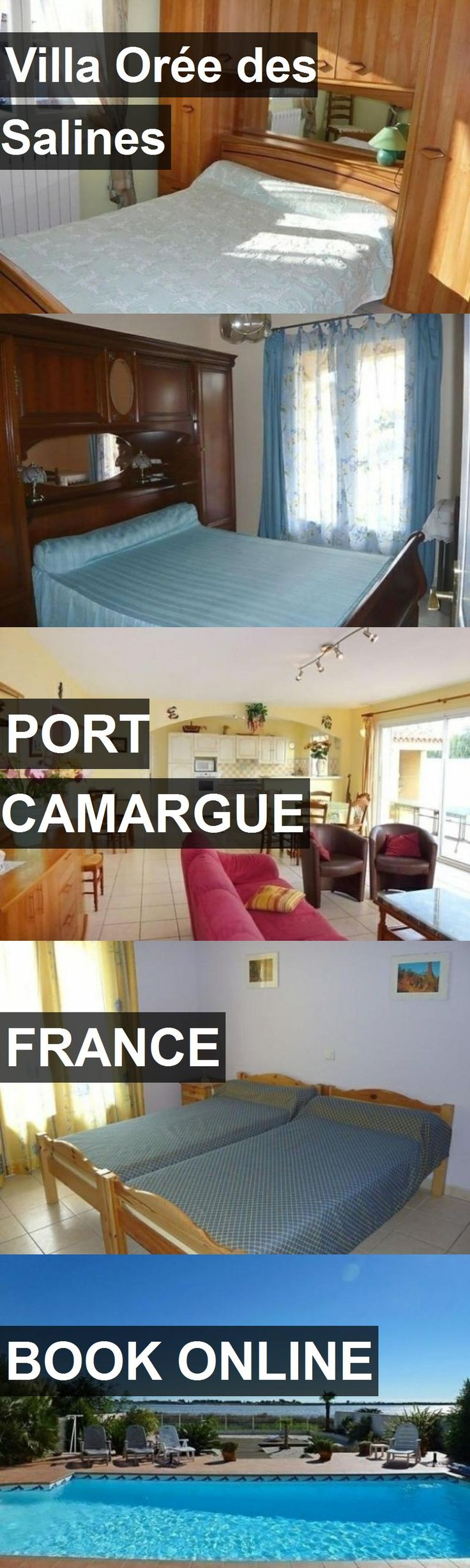 Hotel Villa Orée des Salines in Port Camargue, France. For more information, photos, reviews and best prices please follow the link. #France #PortCamargue #travel #vacation #hotel