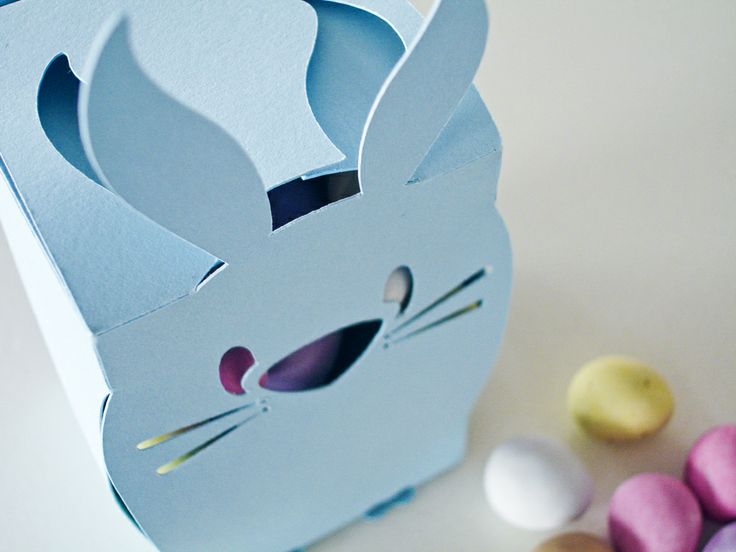 Easter Bunny Gift Boxes – 2 Pack – Blue