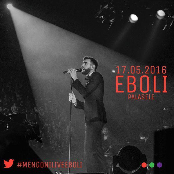 Marco Mengoni : @marinapointdr ecco il nostro ricordo esclusivo del #Mengonilive2016 a Eboli! Staff