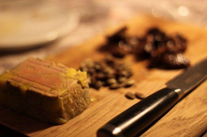 Nytårsmad: Foie gras terrine...
