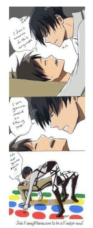 Levi and Eren Attack on Titan XD