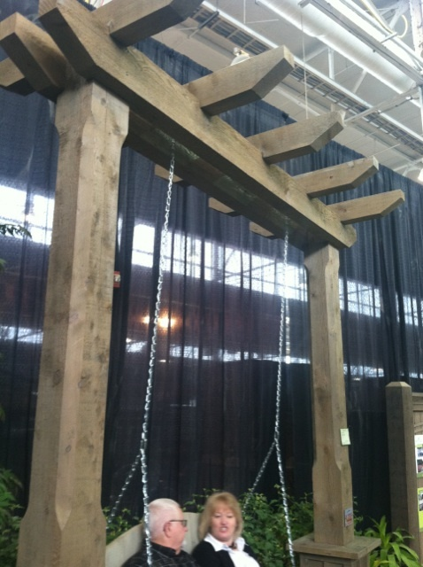 For swing to match pergola
