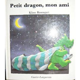 CPRPS 31997000830810 Petit dragon, mon ami. Sortie comme par enchantement du livre d'Anne, le petit dragon vert fait toutes sortes de ganbades. Il y a tant de choses à voir. Texte de lecture facile, illustrations naïves.