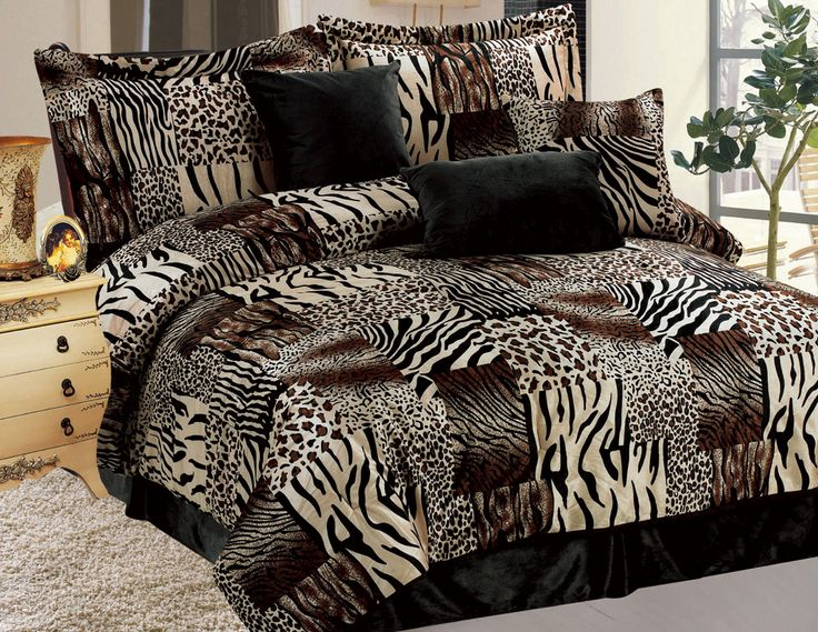 Interior Fur Bed Sheets best 25 fur comforter ideas on pinterest bedding 11 piece safari micro suede faux bed in a bag set
