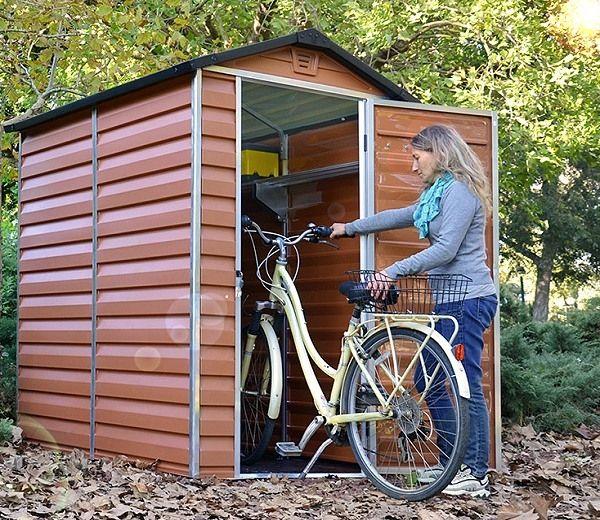 palram skylight amber polycarbonate shed 4x6 - Garden Sheds 3ft Wide