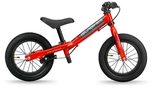 aluminium balance bike teaches children two wheel balance from a very young age. This allows them to skip the stabiliser stage when they get their first bike with pedals. Constructed to the same high standard as our bigger bikes and features our exclusive brake for safe stopping with tiny hands.