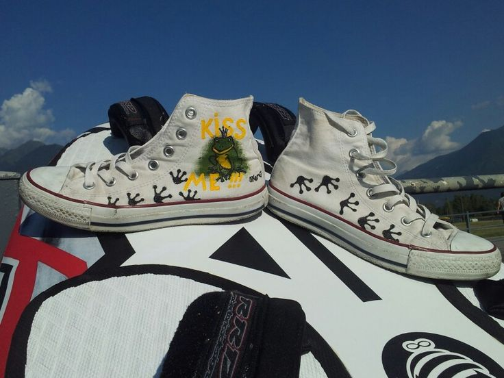 Old All Star customised by www.skeno.it