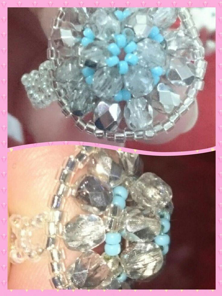 Gyűrű a mandala medálhoz, saját ötlet alapján