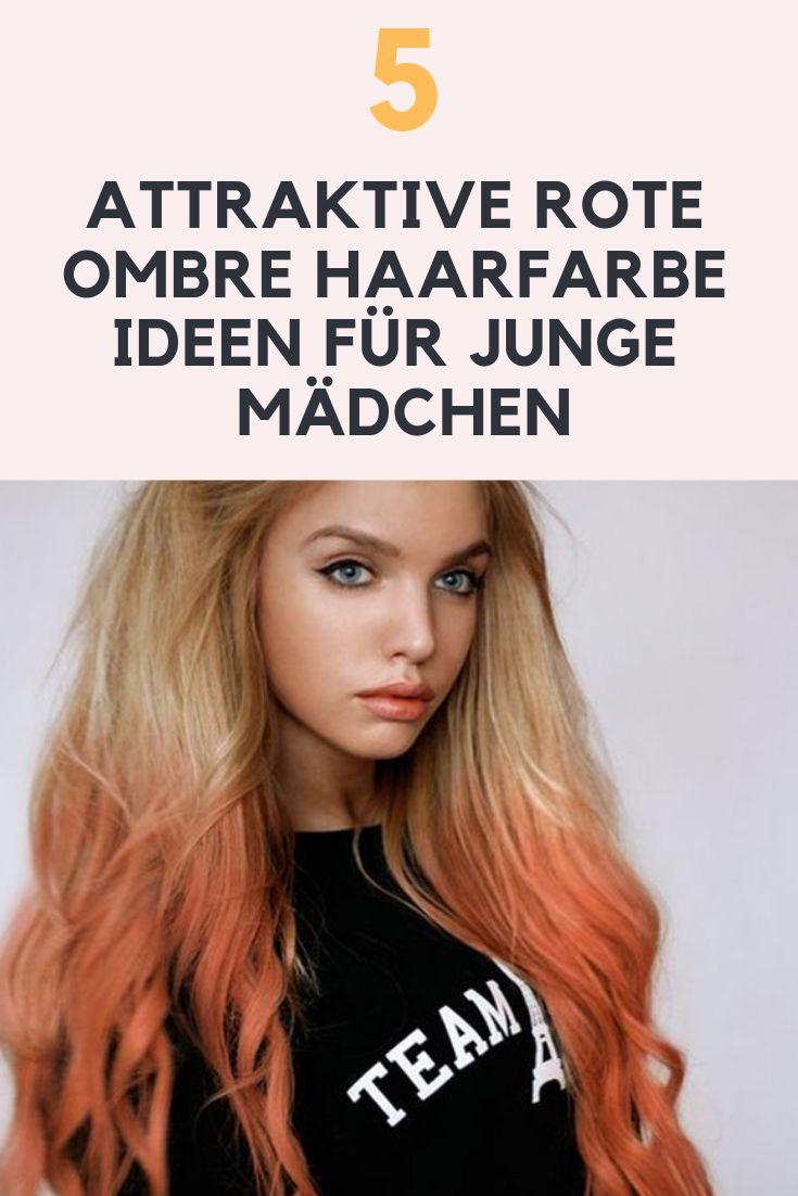 Goldener und roter ombre Dip-Dye: 3 rote Ombre Frisuren für Mädchen (2) Trend der Dip-Dye ist enorm in Stil und junge Mädchen schaffen einzigartige Pracht durch diese Haar ye Idee. Wenn Sie lange goldene Haare wie eine Puppe haben, dann denken Sie an hellrote Dip-Farbe, um eine ausgezeichnete Ausstrahlung des zeitgenössischen Trends zu erzeugen. Durch diese kleine Änderung erhalten Sie eine hervorragende Anmut in Ihrer Persönlichkeit.