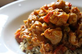 Domestic Divas Blog: Slow-Cooker Curried Chicken & Cauliflower