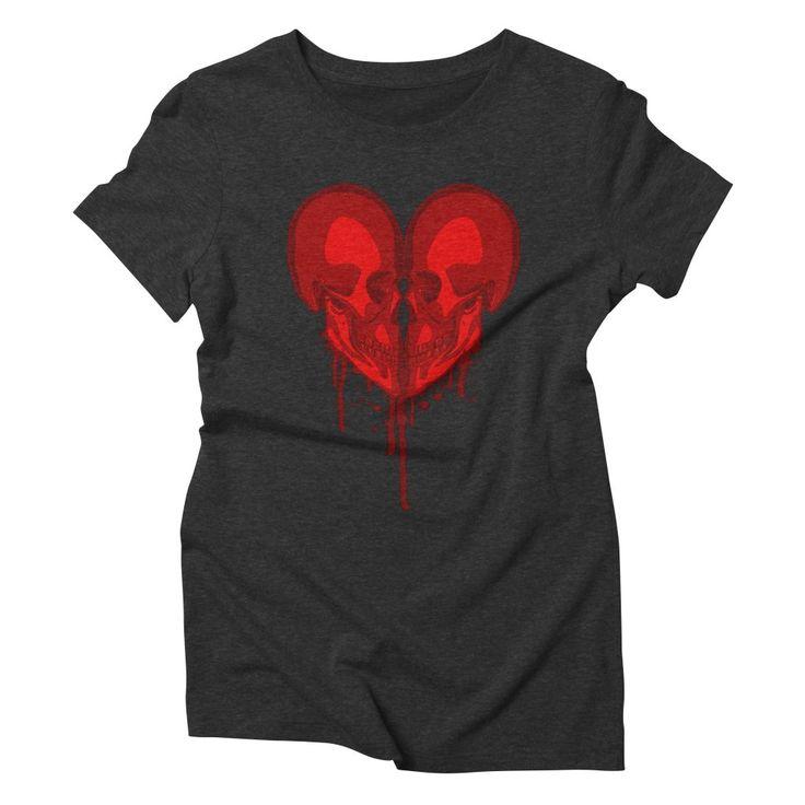 Eternal Valentine Women's Triblend T-Shirt by Grandio Design Artist Shop