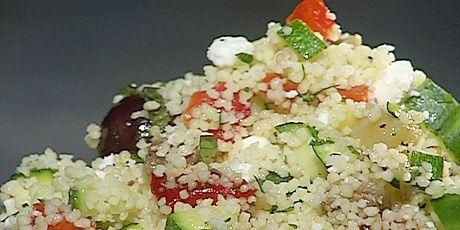 Mediterranean Couscous Salad | Recipe Box | Pinterest