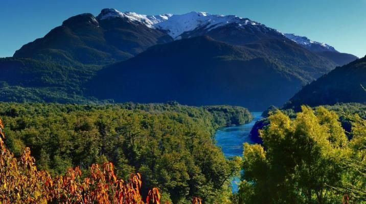 Nationalparken Los Alerces, Patagonien, Argentina