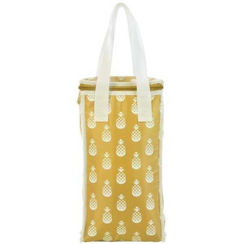 Sunnylife Cooler Bag  Wine Cooler Bag Yellow  17x33x8.5cm  PVC  $24.95