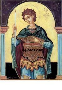 Свети Фанурий [Holy Fanurie] icon