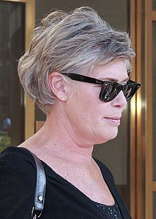 Can't believe this is Kelly McGillis now!  Remember her from Top Gun and Witness?