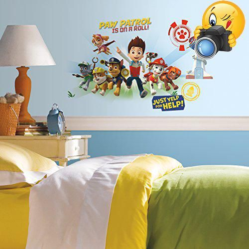 #furniture Help your favorite group of puppies protect the Adventure Bay Community with these Paw #Patrol #Wall Graphix Giant wall decals! Great wall decor for a ...