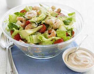 """""""Anya, ez isteni!..."""", avagy Gabojsza konyhája: Avokádós koktélrák saláta"""