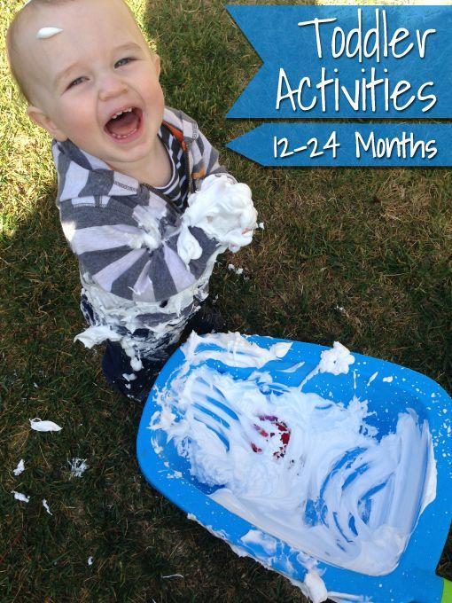 Toddler Activities | 12 - 24 Months