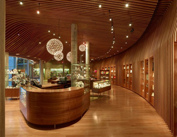 Crystal Bridges Museum store by Marlon Blackwell Architect, Bentonville   Arkansas