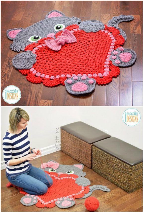 Crochet Animal Rugs By Irarott Etsy Best Ideas The Whoot Crochet Rug Animal Rug Crochet