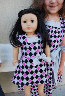 American Girls Doll Party Dress by sewsocutie on Etsy