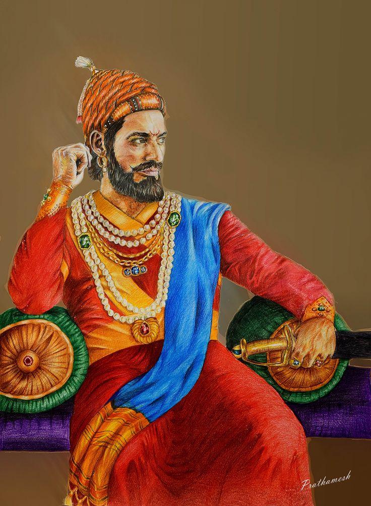 #shivaji #maharaj #painting
