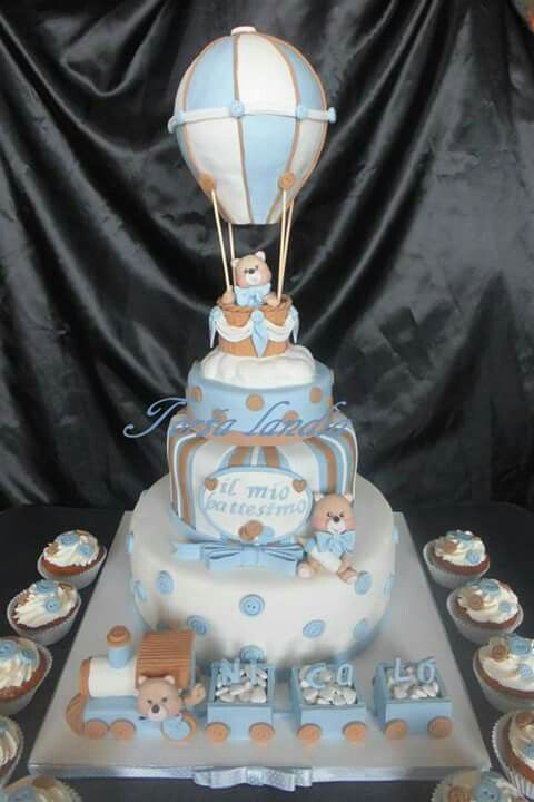 Preferenza 15 best Torta battesimo images on Pinterest | Baby shower cakes  CD08