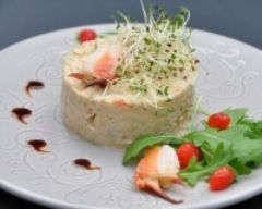 Fraîcheur de crabe rémoulade au piment d'Espelette - Une recette CuisineAZ
