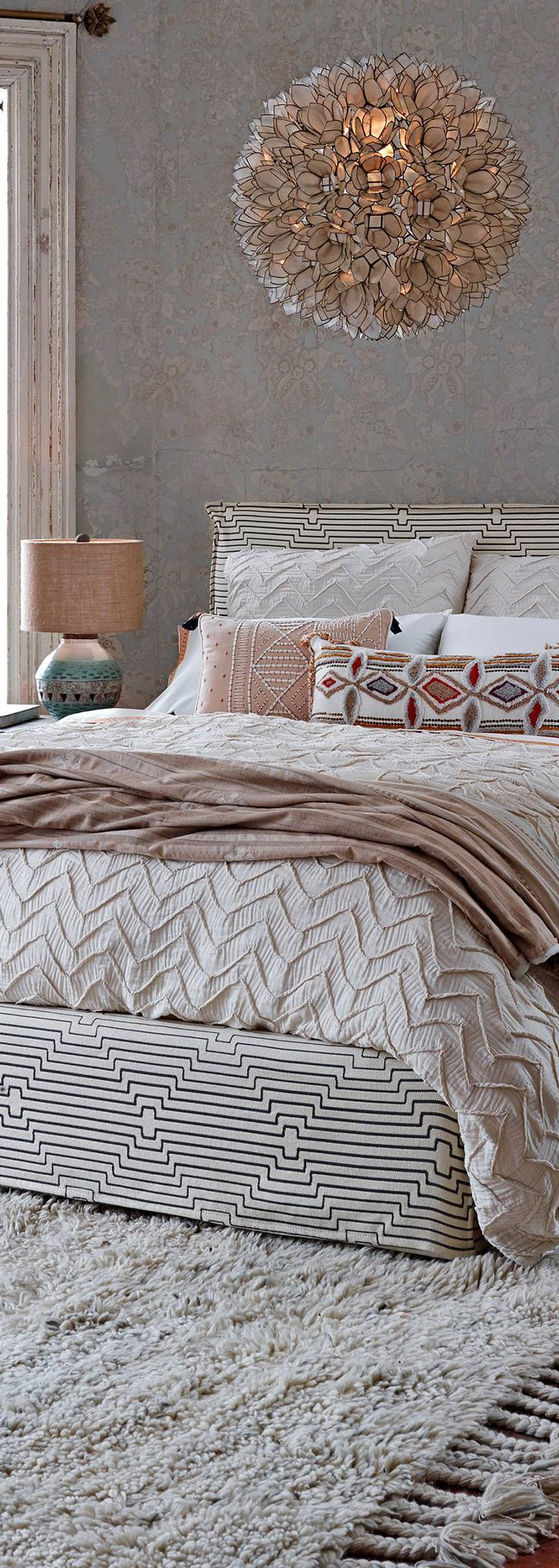 Textured Chevron Duvet Cover #manchesterwarehouse