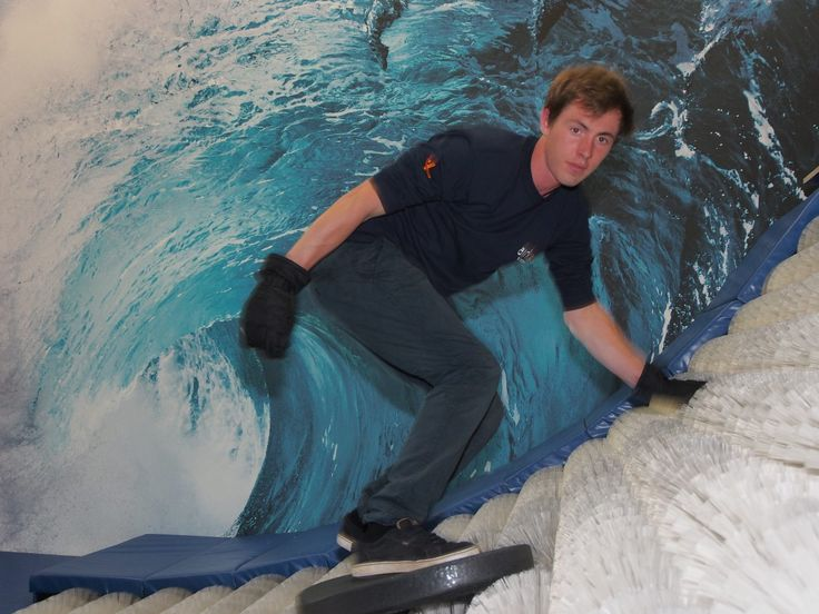 Here is another addition to the Airkix family, Brushborading. It's surfing...indoors...without the wet stuff! Awesome right?
