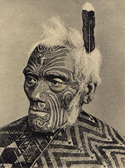 This Is What A Real Maori Warrior Looks Like. Every Tattoo